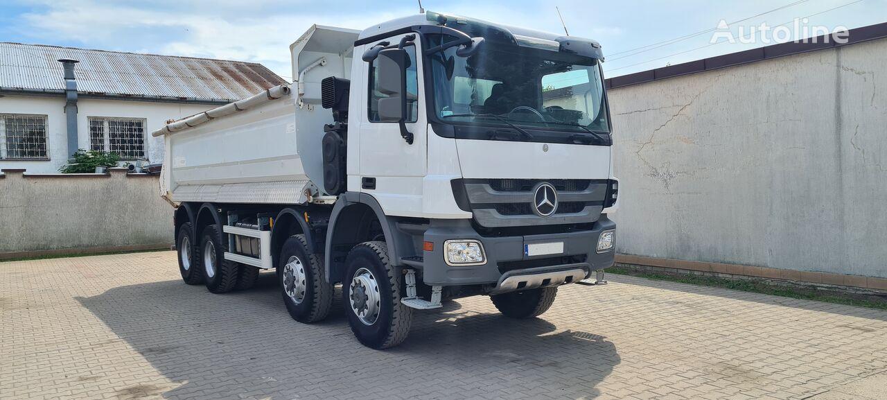 MERCEDES-BENZ ACTROS 4141AK 8X8 dump truck