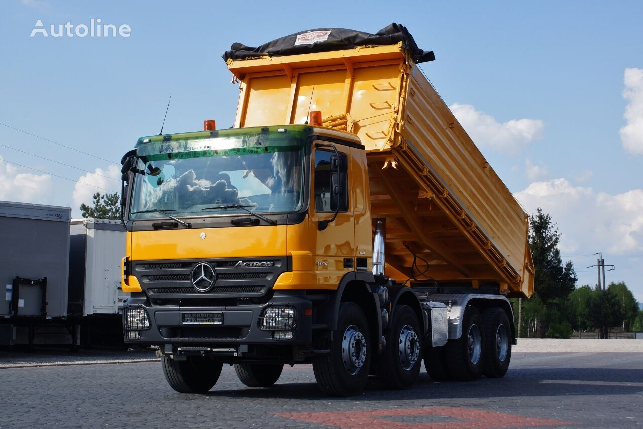 MERCEDES-BENZ ACTROS 4144 3S KIPPER DAUTEL EPS / EURO 5 IMPORT GERMANY / TOP 2 dump truck