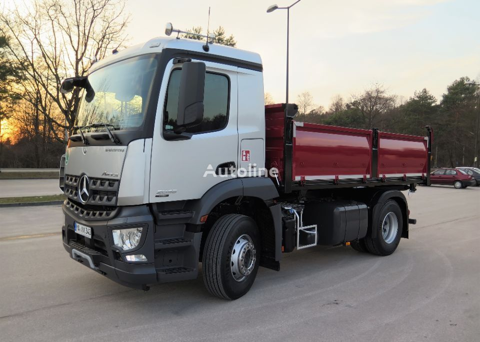 MERCEDES-BENZ AROCS 2035, MANUAL, RETARDER dump truck