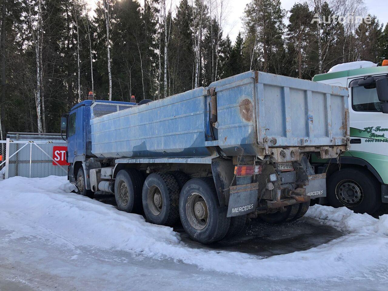 MERCEDES-BENZ Actros dump truck