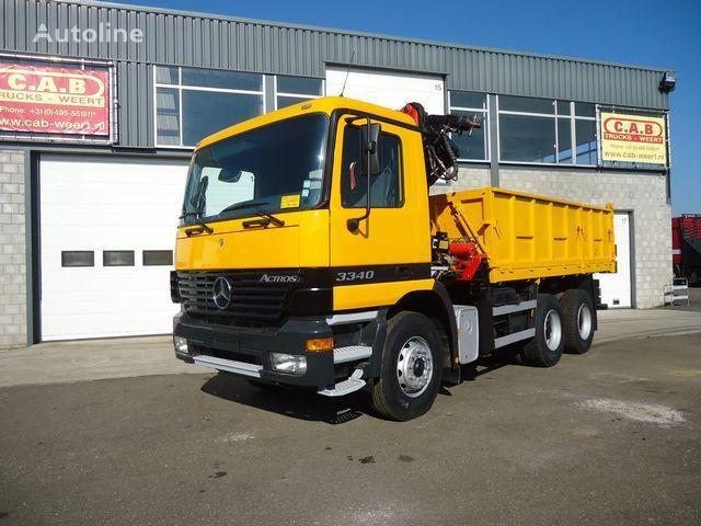 MERCEDES-BENZ Actros 2640 - 6x4 - Crane Palfinger PK14080 dump truck