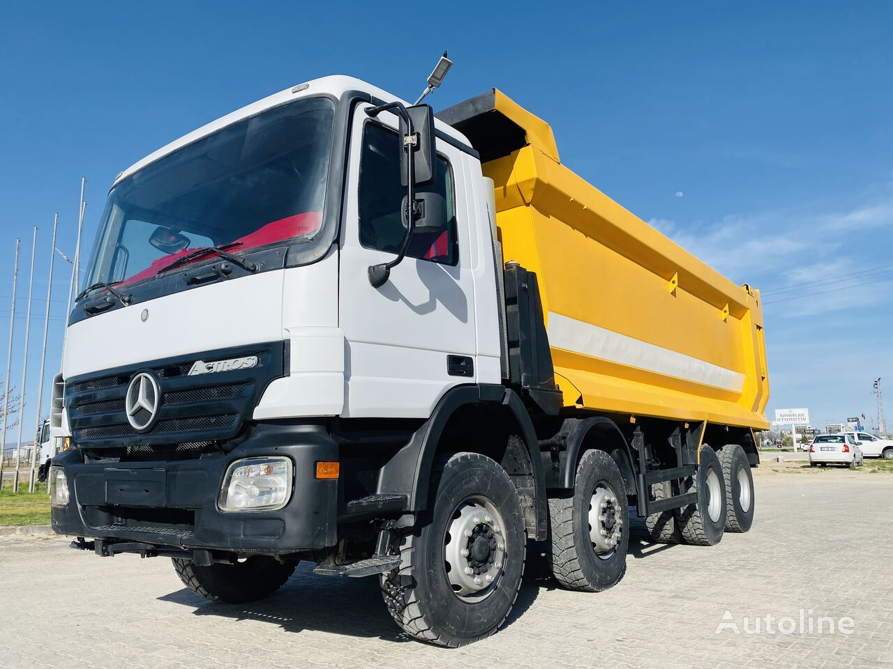 MERCEDES-BENZ Actros 3236 dump truck