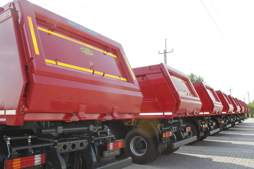 New mercedes benz actros 4141 k dump truck for sale for Mercedes benz dump truck