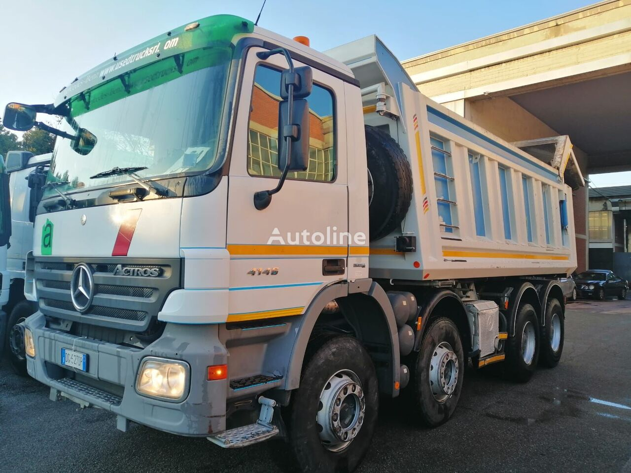 MERCEDES-BENZ Actros 4146 dump truck