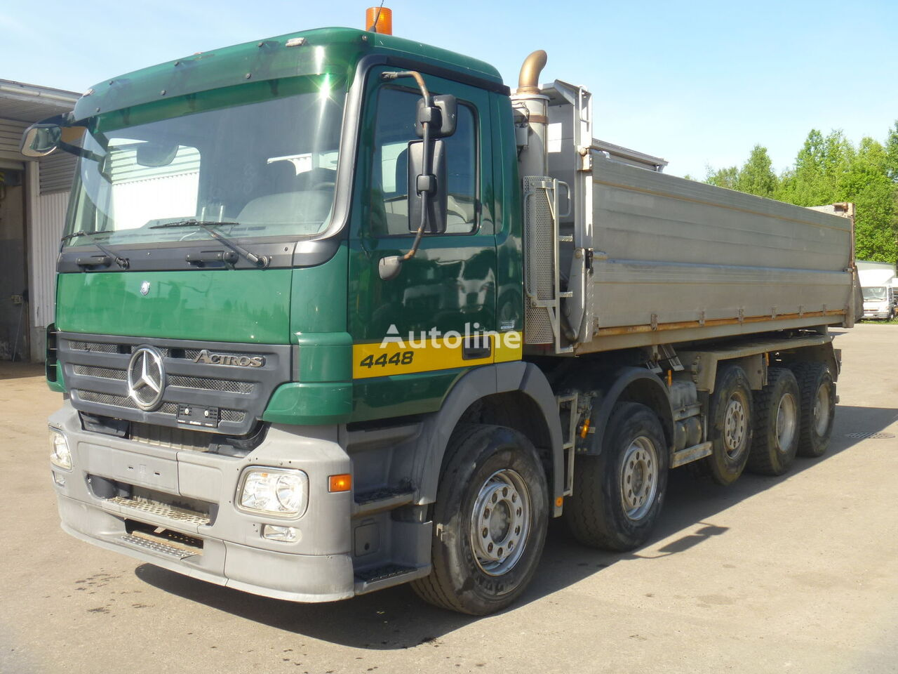 MERCEDES-BENZ Actros 4448 dump truck