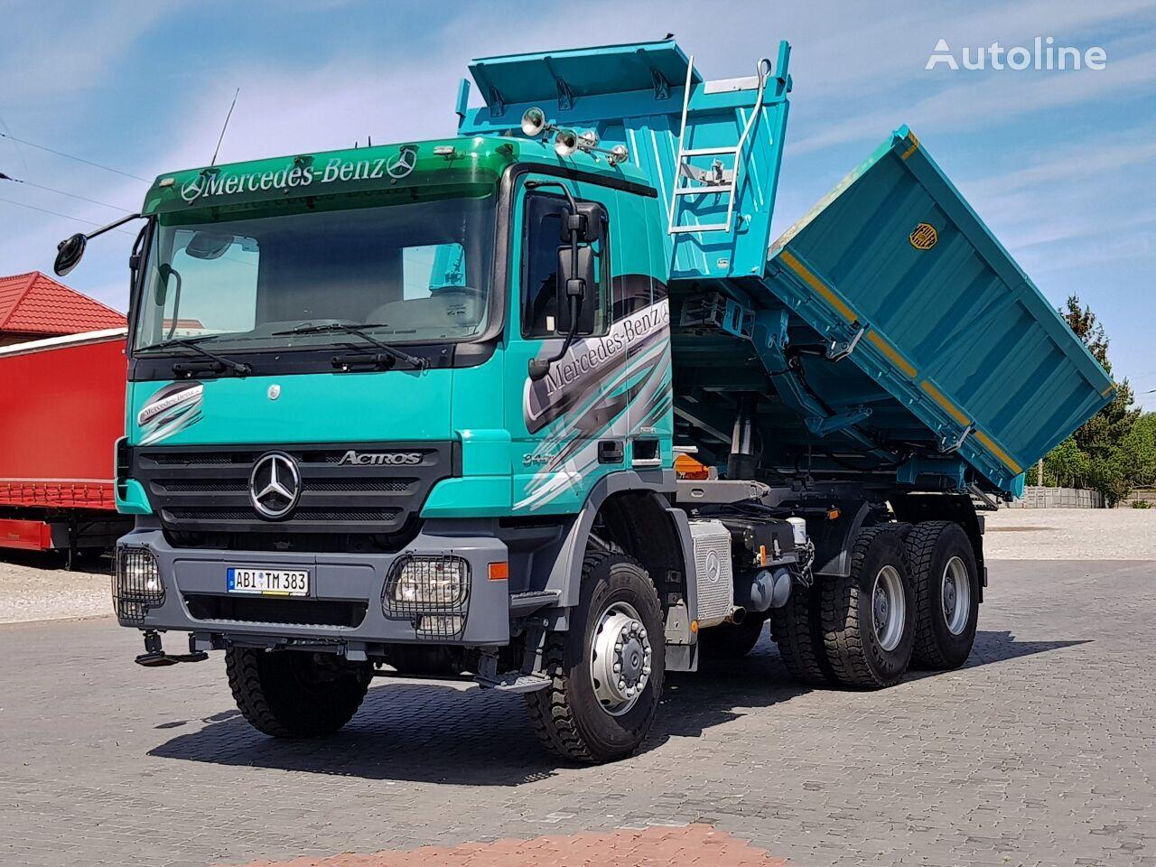 MERCEDES-BENZ Actros MP2 3341 6X6 BORDMATIC EPS 2007 dump truck