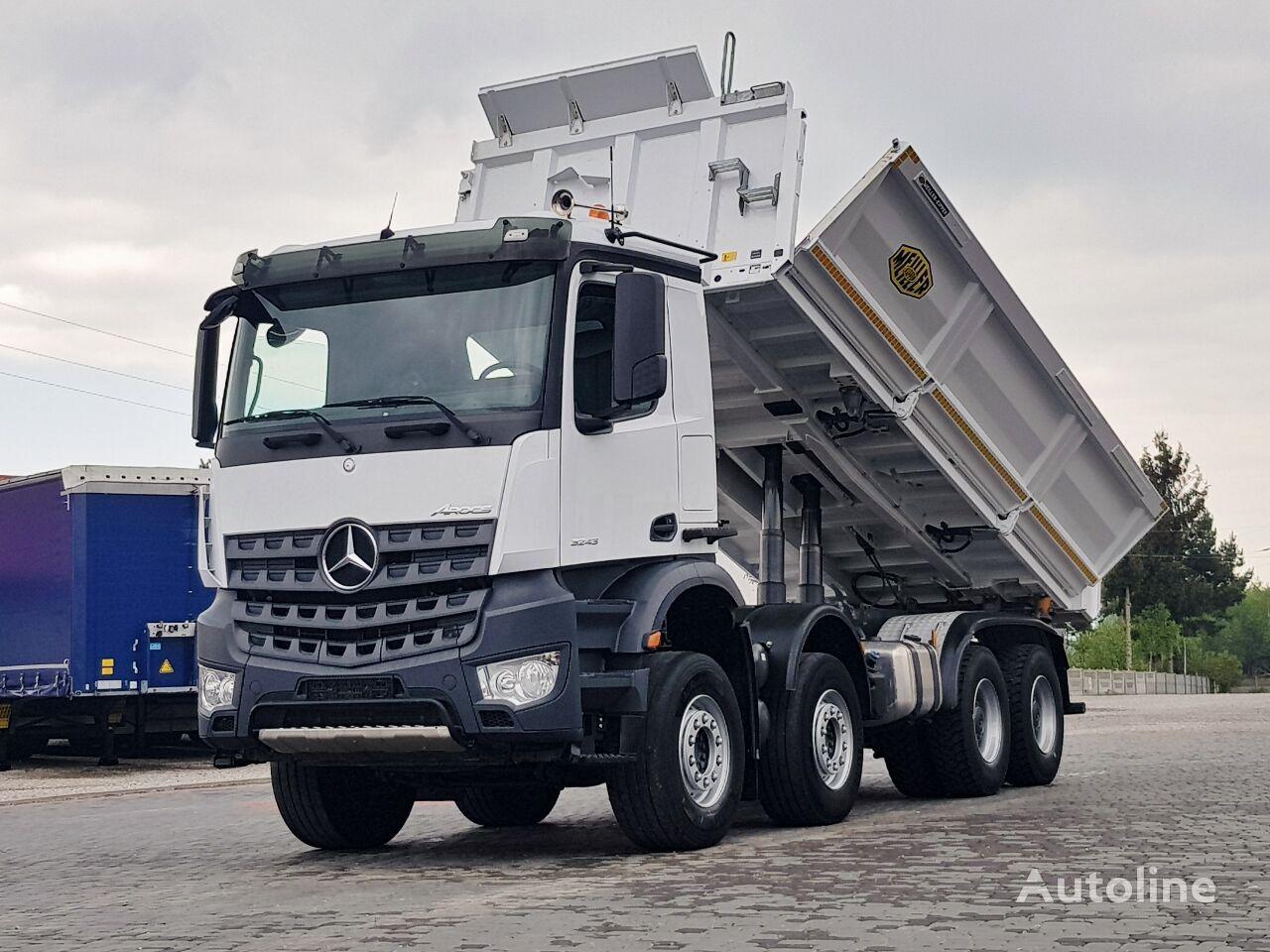 MERCEDES-BENZ Arocs 3243 MEILLER BORDMATIC 8X4 2014 TOP_ZUSTAND dump truck