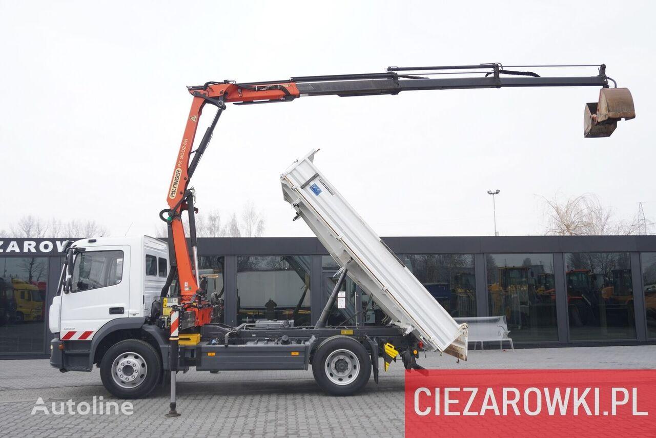 MERCEDES-BENZ Atego 1223 , E6 , 90.000km , 4x2 , Palfinger , rotator , grapple dump truck