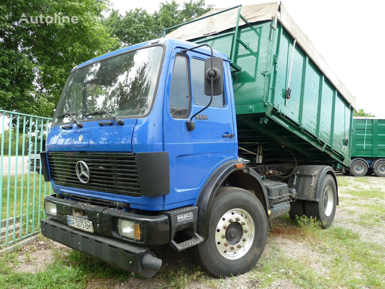 MERCEDES-BENZ SK 1628 dump truck