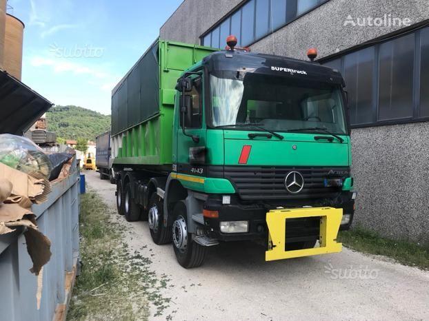 MERCEDES-BENZ scarabile 4143 dump truck