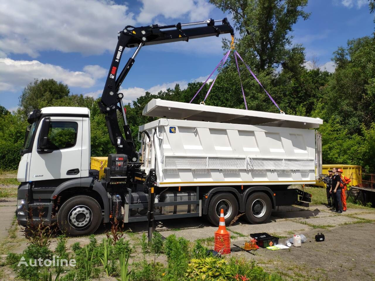 new MERCEDES-BENZ VARZ-MB dump truck