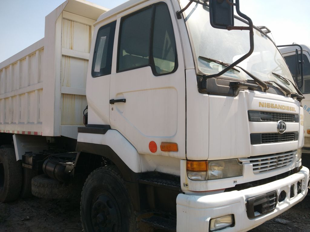 Japanese Used NISSAN UD 10 TON DUMP 2014 Truck 10855 for Sale