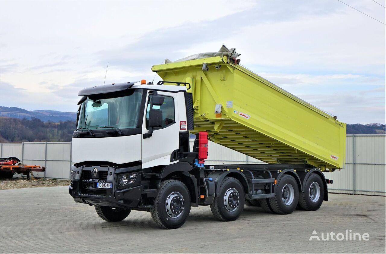 RENAULT C 460 Kipper * EURO 6 ! Topzustand*! dump truck