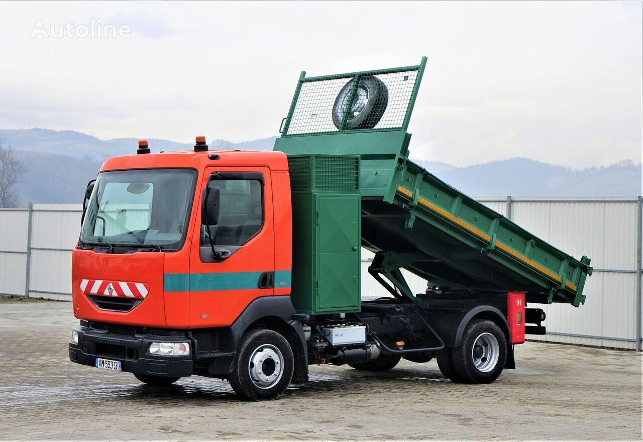 RENAULT  MIDLUM 180 Topzustand dump truck