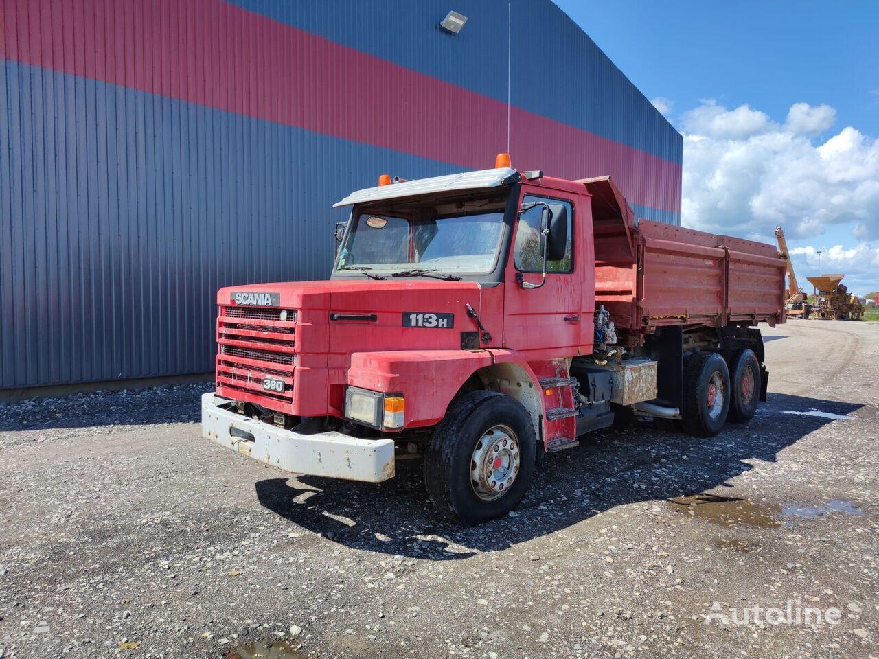SCANIA 113H 360 dump truck
