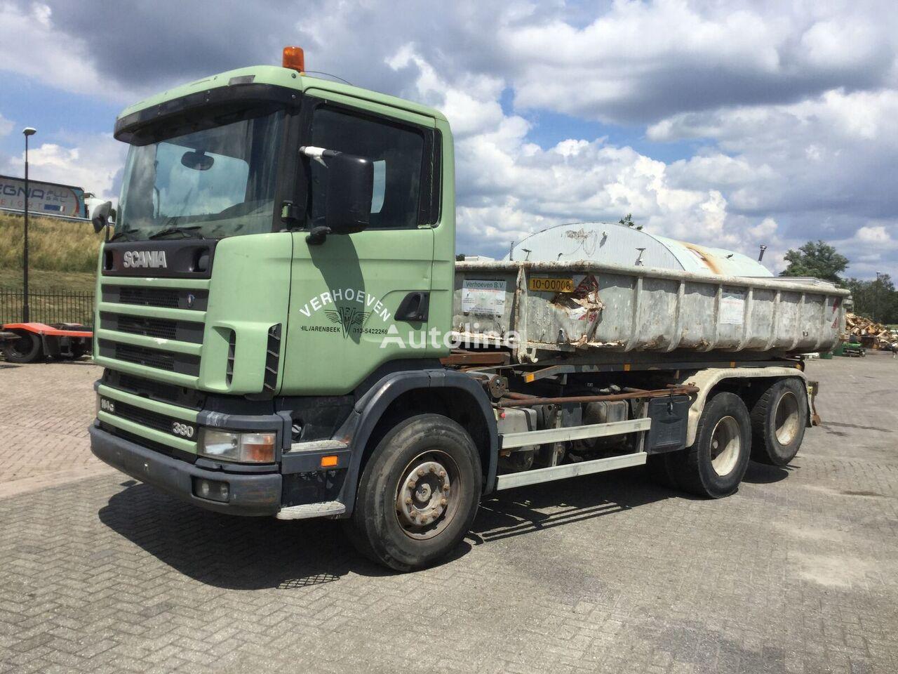 SCANIA 114 380 dump truck