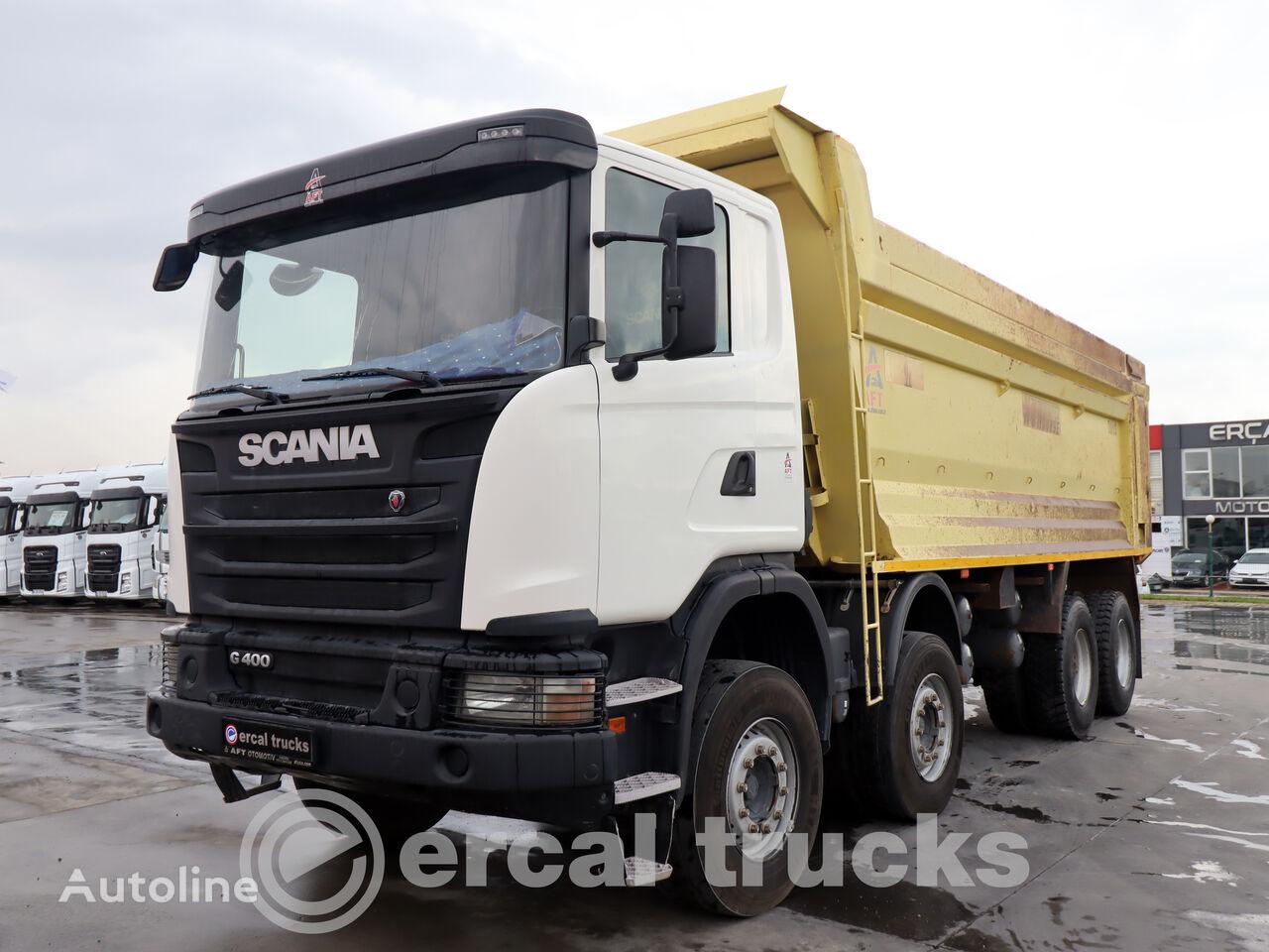SCANIA 2015 G 400 AC EURO 5 8X4 HARDOX TIPPER dump truck