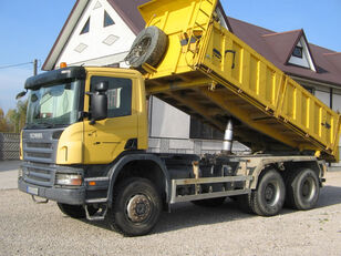 SCANIA 6x6 P340 3 SIDED TIPPER  dump truck