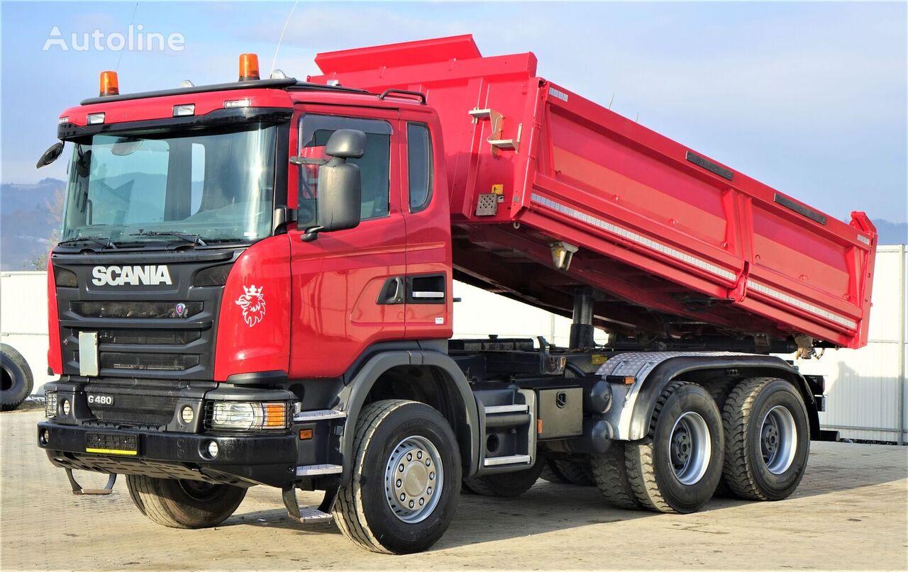 SCANIA G480 Kipper + Bordmatic *Topzustand! dump truck