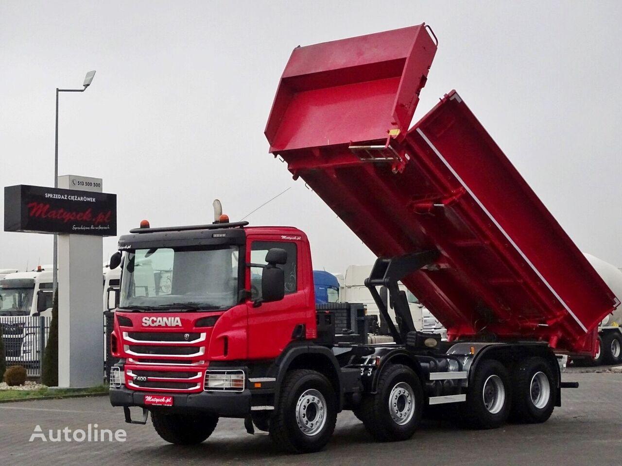 SCANIA P 400 / BORTMATIC dump truck
