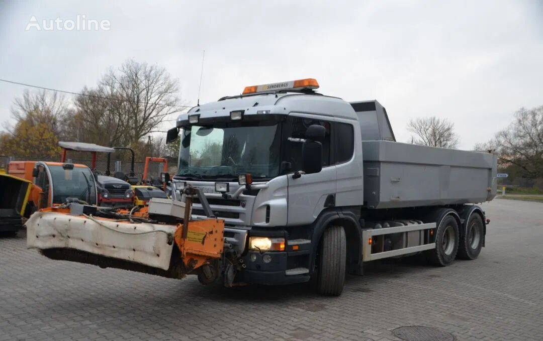 SCANIA P 420 dump truck
