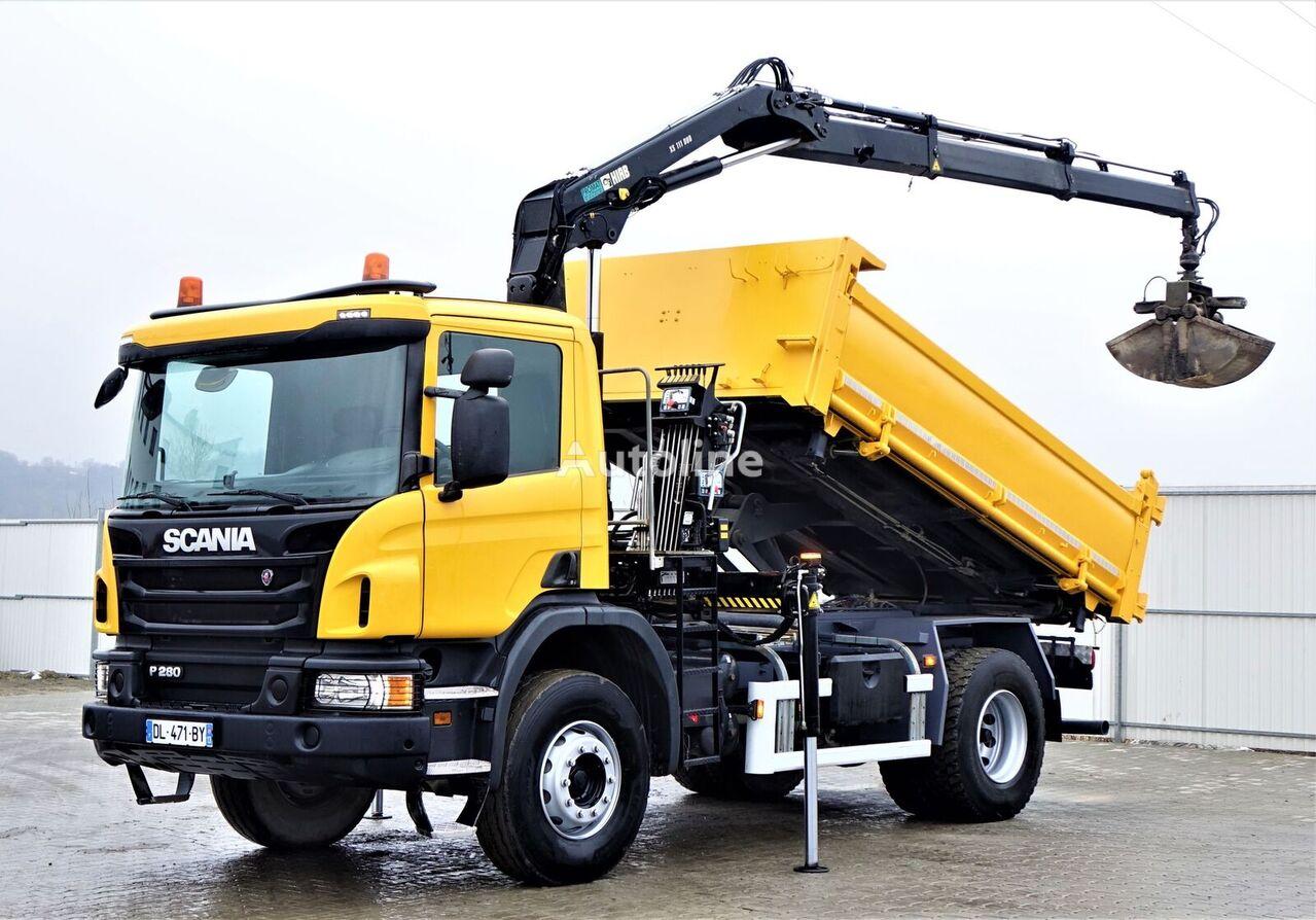 SCANIA P280 Kipper  dump truck