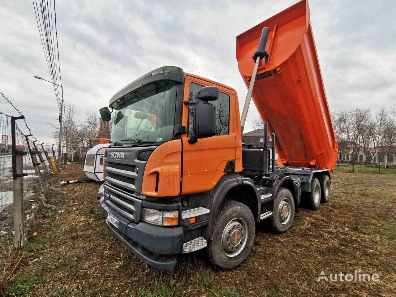 SCANIA P420 dump truck