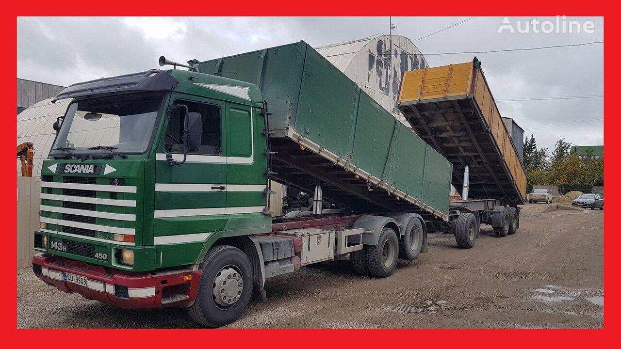 SCANIA R 143 dump truck