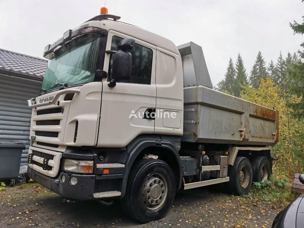 SCANIA R 480 dump truck