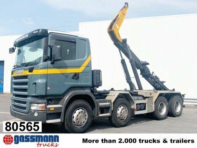 SCANIA R420 CB8x4MNZ R420 CB8x4MNZ, Retarder Klima/R-CD dump truck