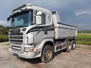 SCANIA R500 6x4, full steel,retarder dump truck
