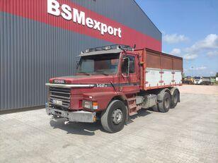 SCANIA T 142 H 420, 6x2 dump truck