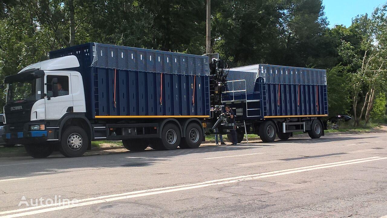 new SCANIA VARZ-SK dump truck + dump trailer