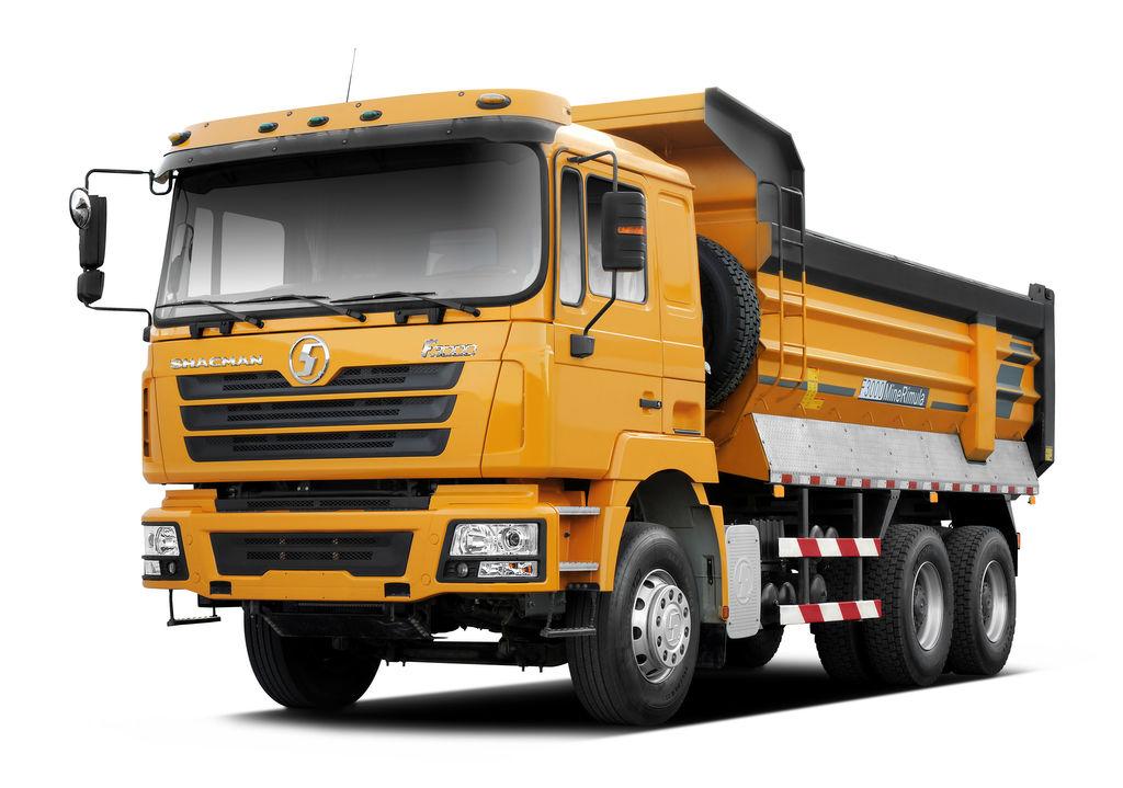 SHACMAN SHAANXI F3000 dump truck