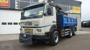 TERBERG FM1350-WDGL 6x6 HIAB125 dump truck