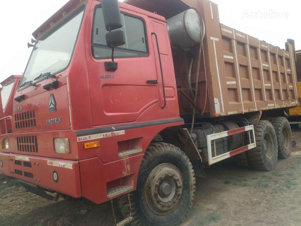 THWAITES HOWO 375 dump truck