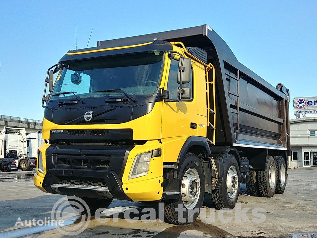 VOLVO 2015 FMX 460 AC E5- 8X4- 70 TONS! BIG WHEELS dump truck