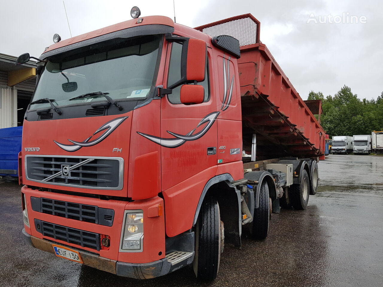 VOLVO FH480 dump truck