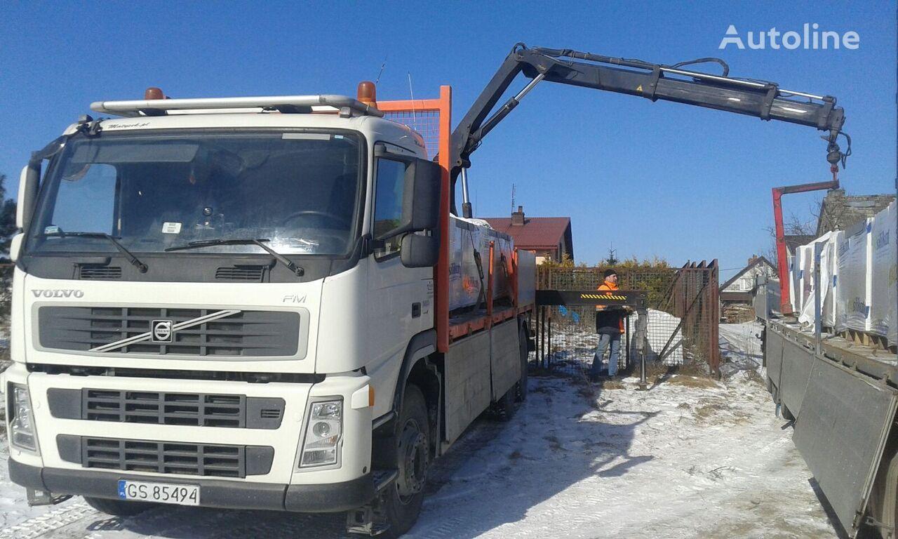 VOLVO FM 380 6x4 + HIAB 166B 13m dump truck