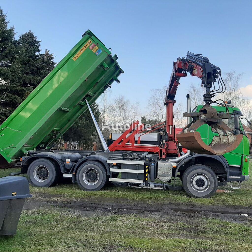 VOLVO TERBERG 6X6 HDS-KRAN Euro5 dump truck