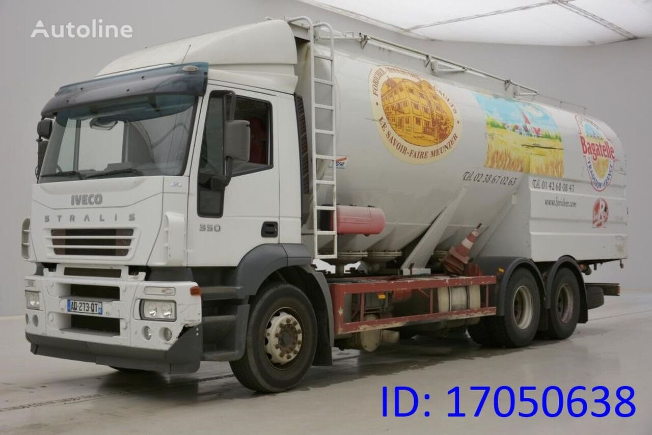 IVECO STRALIS 350 - 6X2 feed truck