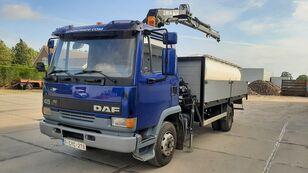 DAF 45.160 Ti / 8 x Bolts Full Spring / HIAB 060 flatbed truck