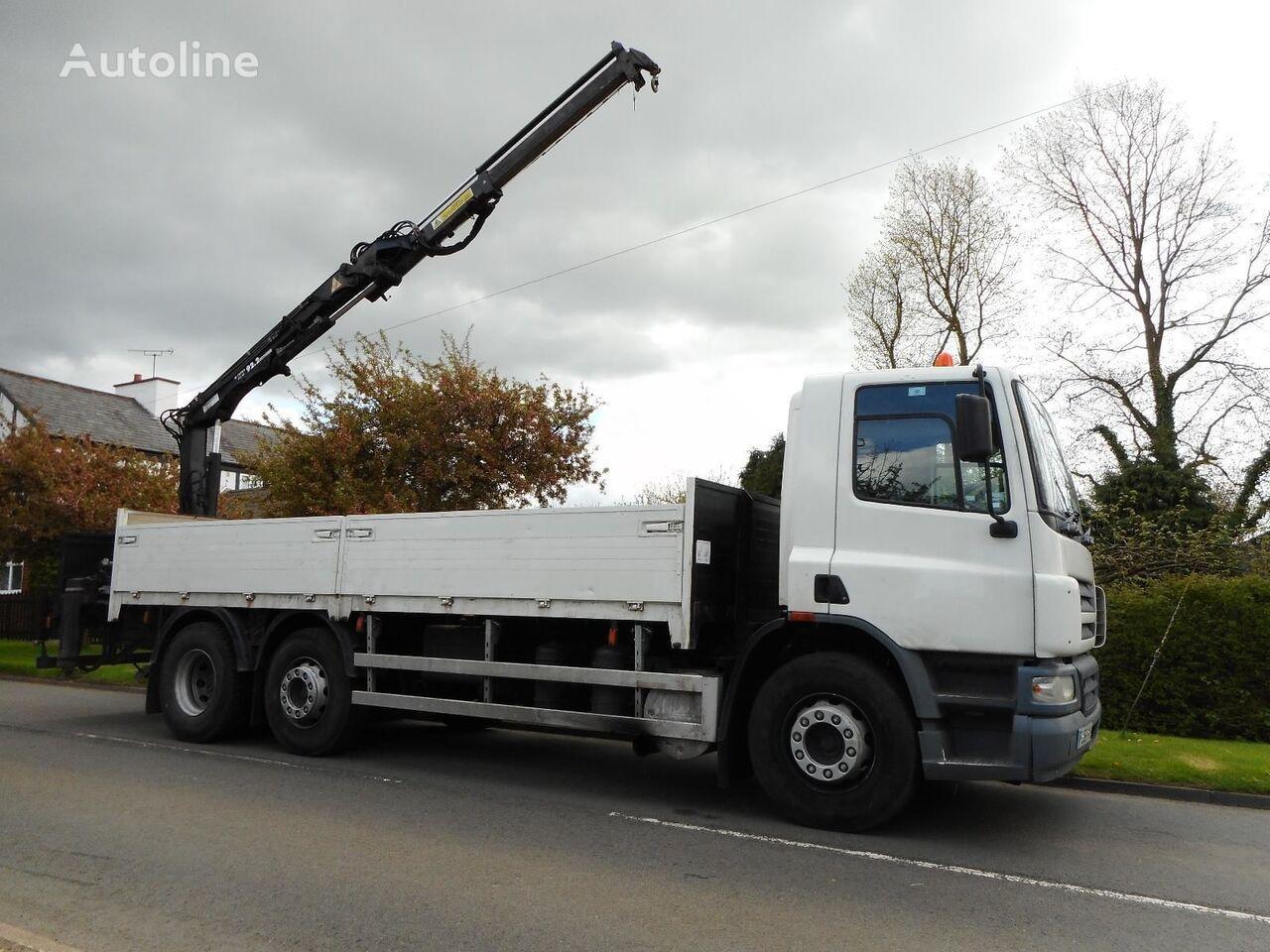 DAF CF 75 310 flatbed truck