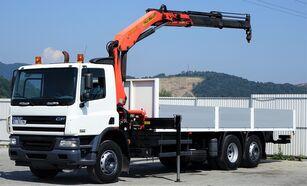 DAF CF 75.310  flatbed truck