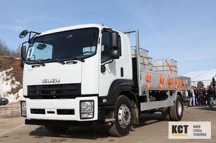 ISUZU FVR34M flatbed truck