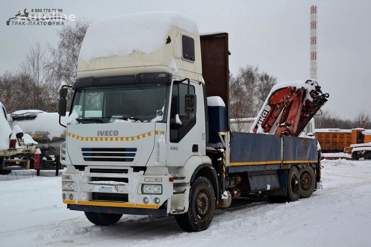 IVECO A2SY flatbed truck