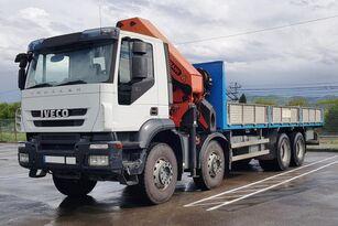 IVECO Trakker 360 8x4 - PK 44002 flatbed truck