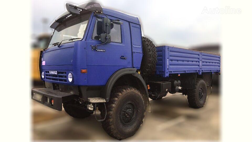 new KAMAZ 43501 flatbed truck