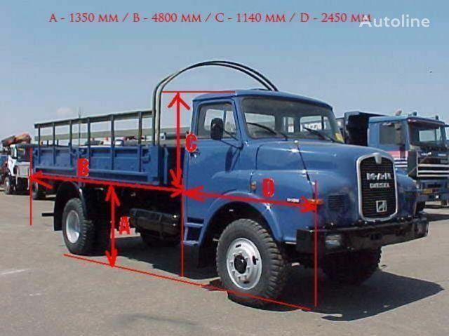 MAN 11.136 - 4x4 flatbed truck