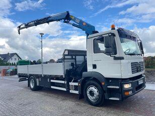 MAN 18.240 HDS HMF 1560 flatbed truck